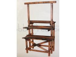 Bancarella in legno - altezza cm 38 - Presepi Pigini