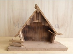 Capanna in legno - cm 15x38x 29