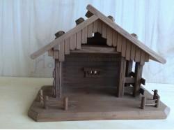 Capanna in legno - cm 18x35x 25