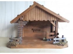 Capanna in legno - cm 25x46x34