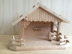 Capanna in legno cm 25x 48,5 h 34