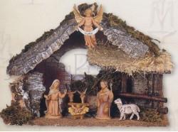 Capanna presepe Fontanini per statue da 10 CM
