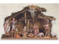 Capanna presepe Fontanini per statue da 12 CM