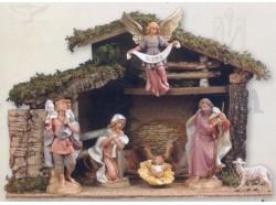 Capanna presepe Fontanini per statue da 19 CM