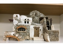 Casa mulino - Presepi Pigini - cm. 39 x 27 x 29