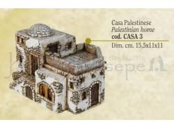 Casa palestinese - Presepi Pigini -  cm 15,5x11,5x11 h