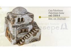 Casa palestinese - Presepi Pigini -  cm 21x21x22 h