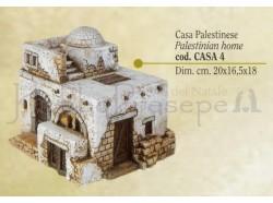 Casa palestinese - Presepi Pigini - cm 20x16,5x18 h