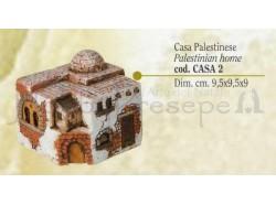 Casa palestinese - Presepi Pigini -cm 9,5x9,5x9 h