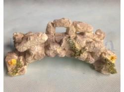 Ponte di pietra bianca - lunghezza cm 14