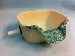 Vasca di uscita per l\'acqua (con tubo di raccordo) -  Presepi Pigini -cm 15x15