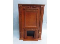 Caminetto in legno -  Casa Bambole