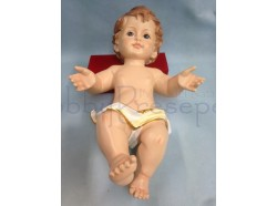 Gesù Bambino - in resina - lunghezza cm 30