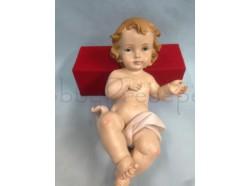 Gesù Bambino - in resina - lunghezza cm 6,5