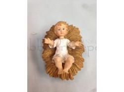 Gesù Bambino - in resina - lunghezza cm 8