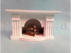 Caminetto in legno Casa Bambole
