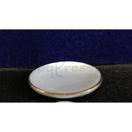 Piatto in ceramica - diametro cm. 2,3