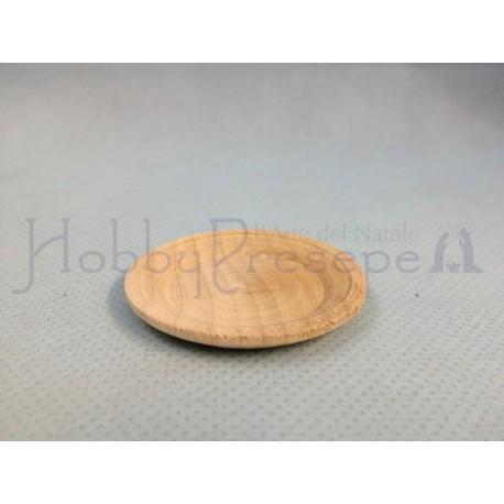 Piatto in legno  - diametro mm. 30