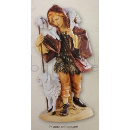 Pastore con pecore fontanini 52 cm for Arredamento pastore