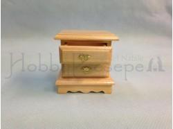 Comodino in legno -  Casa Bambole