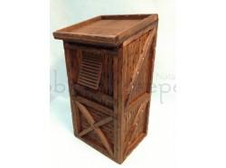 Altana in legno - altezza cm. 21- Presepi Pigini