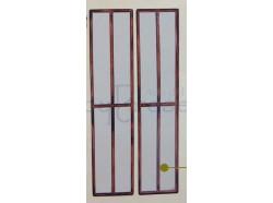 Porta-finestra a doppia anta - presepio cm. 15