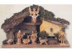 Capanna con fontana  Fontanini per statue da 10 CM