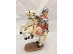 Soldato romano a cavallo - presepio 12 CM