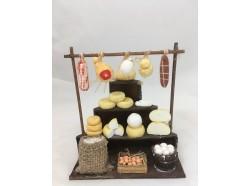 Bancarella di salumi e formaggi - Melù