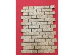 Pavimento modulare di mattoni - lastra -  Presepi Pigini
