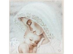 Quadro Maternità - Mamma con il bambino
