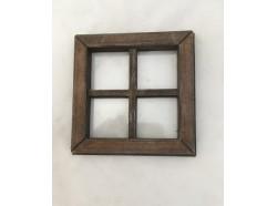 Finestra con vetro - cm. 7 x 7