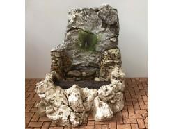 Fontana con pompa per l\'acqua - Presepi Pigini - cm 21x22x20