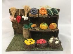 Bancarella di verdure -Melù