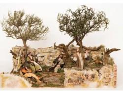 Orto degli ulivi - Scene Pasquali - Presepi Pigini