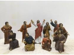 Gesù predicatore tra la folla - Scene Pasquali