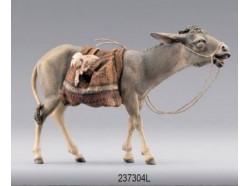 Asino che cammina somato con agnello - Collection Immanuel - Heide 30 CM