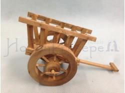 Carretto a due ruote - lunghezza cm 13