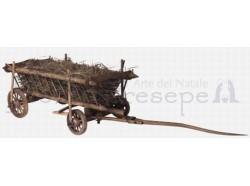 Carro con fieno - lunghezza cm 44 - Presepi Pigini