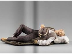 Pastore dormiente - Collection Hannah Alpin - Heide 40 CM