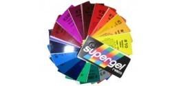 Gelatine colorate